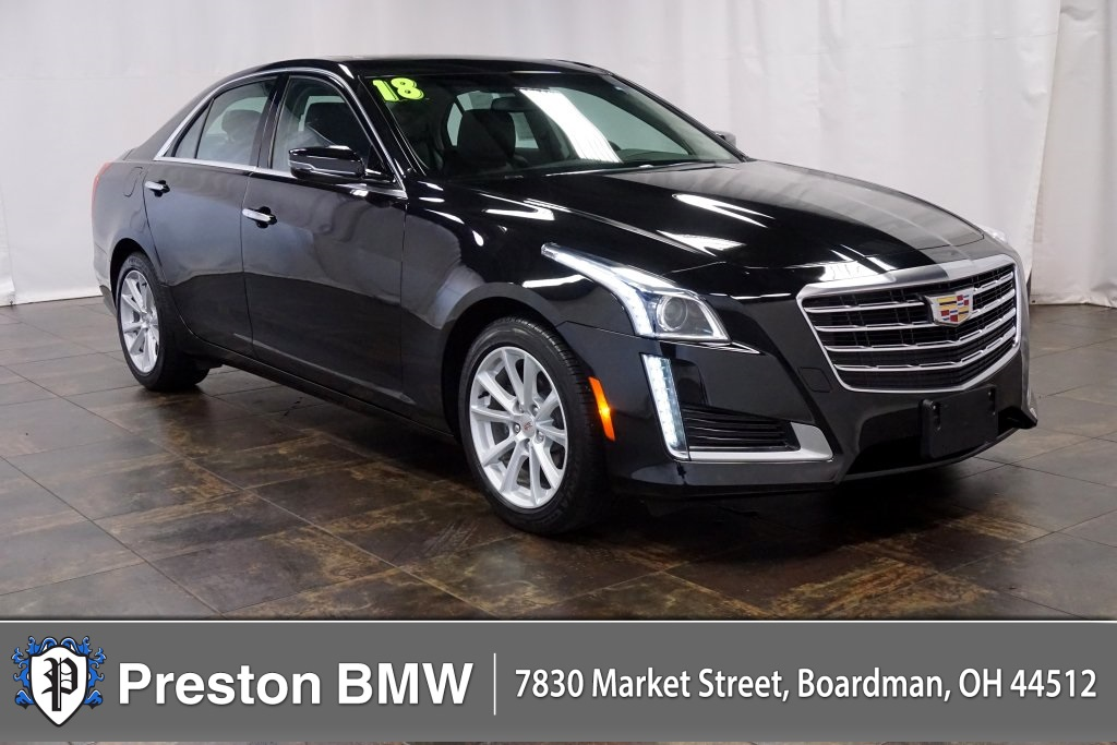 Pre-Owned 2018 Cadillac CTS 2.0L Turbo
