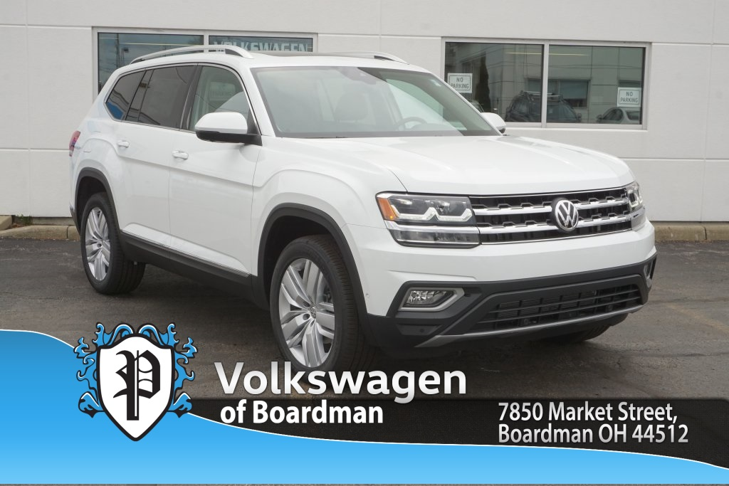 New 2019 Volkswagen Atlas V6 SEL Premium with 4MOTION®