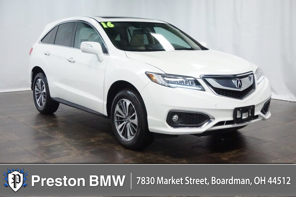 Acura Of Boardman >> Pre Owned 2016 Acura Rdx Base Awd W Advance Package