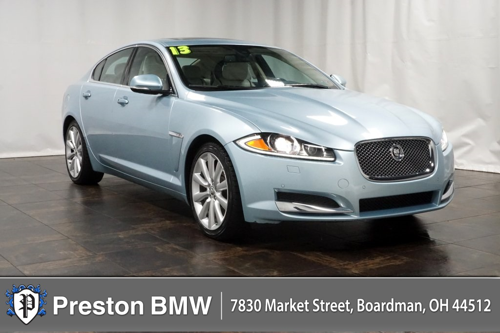 Pre-Owned 2013 Jaguar XF Supercharged