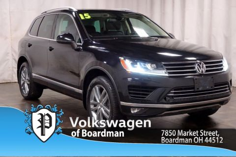 Pre-Owned 2015 Volkswagen Touareg V6 Lux